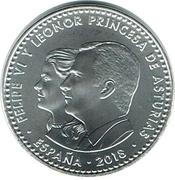 30 euros Prince des Asturies -  avers