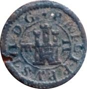 2 maravedis Philippe III – avers