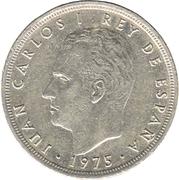 5 pesetas Juan Carlos I étoile -  avers