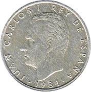 2 pesetas Juan Carlos I -  avers