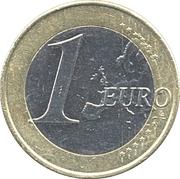 1 euro Juan Carlos I (2e carte, 1er type) -  revers