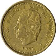 100 pesetas Juan Carlos I modèle 100 avec des points -  avers