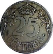 25 centimos Caraba -  revers