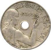 25 centimos République -  avers