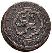4 maravedis Philippe III Ségovie frappe au balancier – revers