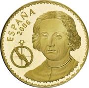 400 euros Christophe Colomb -  avers