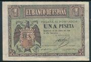 1 peseta – avers
