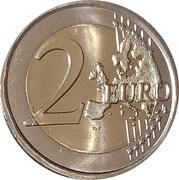 2 euros Tolède -  revers
