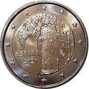 2 euros Tolède -  avers