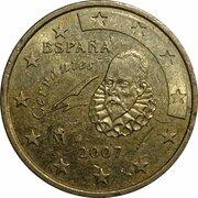 50 cents d'euro (2e carte, 1er type) -  avers