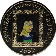20 euros Picasso – avers