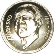 20 euros Picasso – revers