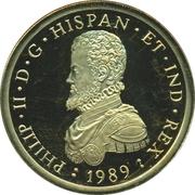 50 ECU (Philip II) – revers