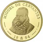 100 écus Cervantes – revers