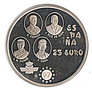 25 Euro (Plus Ultra) – avers