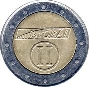 Jeton de lavage automatique - Istobal II – revers