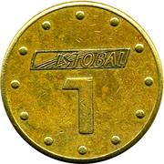 Jeton de lavage automatique - Istobal 1 – revers