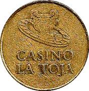 Token 1 Euro Casino La Toja – revers