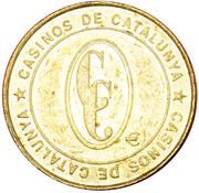 CASINOS OF CATALONIA 1 EURO – avers