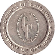 Game Token - Casinos de Catalunya (25 cent) – avers