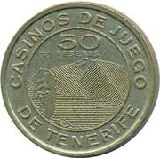50 Pesetas - Casinos de Juego de Tenerife – avers