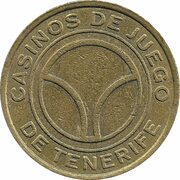 50 Pesetas - Tenerife Gaming Casinos – revers