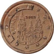 1 Euro Cent (plastic replica) – avers