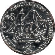Jeton monnaie pirate (plastique) – avers