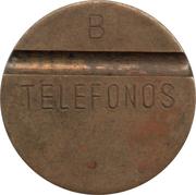 Jeton de téléphone - Telefonos (2 rainures ; B) – avers