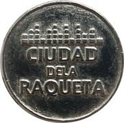 Jeton - Ciudad dela Raqueta (Madrid) – avers