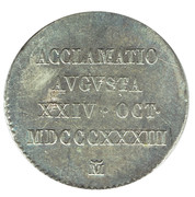2 Reales - Proclamation coin / token – avers