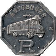 Jeton de transport 15 centimos - Autobuses Roca (Barcelone) – avers