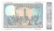 50 pesetas (Replica) – revers