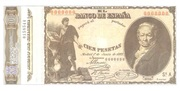 100 pesetas (Replica) – avers