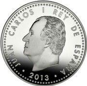 10 euros Miguel De Cervantes -  avers