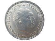 50 pesetas Franco -  avers
