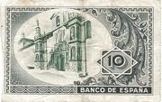 10 Pesetas Bilbao -  revers