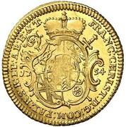 1 ducat Franziska Christine – avers