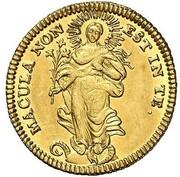 1 ducat Franziska Christine – revers