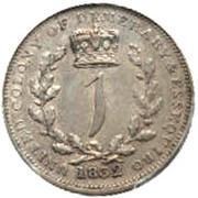 1 guilder - William IV – revers