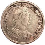 ½ guilder - George III – avers