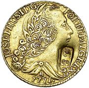 22 guilder - George III  – avers
