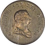 ½ guilder - George III -  avers