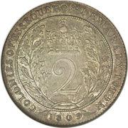 2 guilder - George III – revers