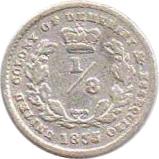 ⅛ guilder - William IV – revers