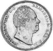 2 guilder - William IV -  avers