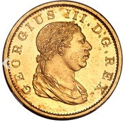 1 stiver - George III (essai) – avers