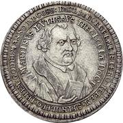 Medal - 200th anniversary of the Reformation (Esslingen) – revers