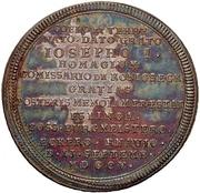 Medal - Hommage to the new emperor Joseph I. (Esslingen) – revers