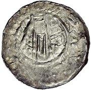 1 Denar - Heinrich III. -  revers